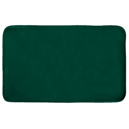 Tapis rectangle 50 x 80 cm velours uni louna Vert