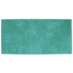 Tapis rectangle 57 x 115 cm tisse uni twist Turquoise