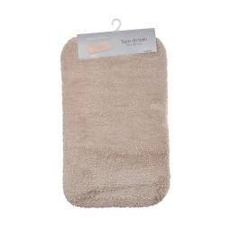 Tapis salle de bain mellow 50*80cm vitamine Taupe