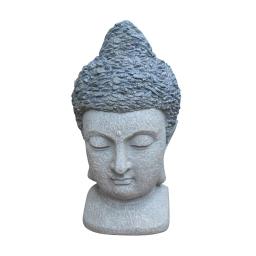 tete bouddha chip stone 47cm