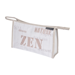 trousse de toilette pu zen wood