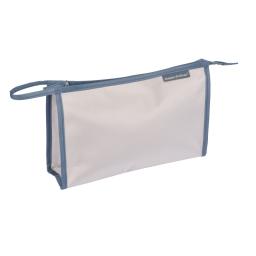 Trousse de toilette unie  en microfibre l29.5cm douceur d'int vitamine Taupe